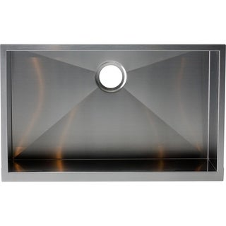 Y-Decor Hardy Apron Farmhouse Sink Single Bowl Stainless Steel Kitchen Sink