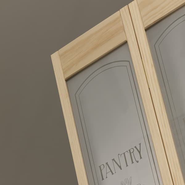 Awc 647 Pantry Glass 24 Inch X 805 Inch Unfinished Bifold Door