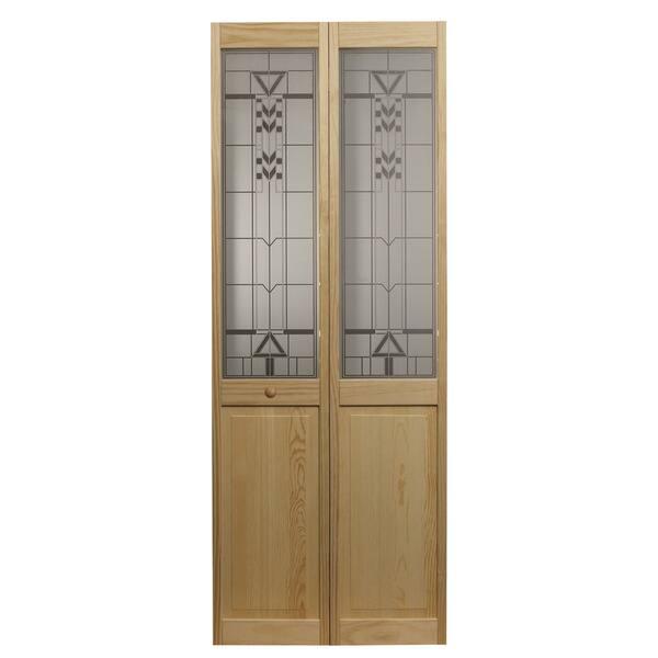 Awc 147 Sedona Glass 24 Inch X 805 Inch Unfinished Bifold Door