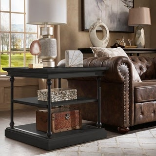 Link to Barnstone Cornice Accent Storage Side Table by iNSPIRE Q Artisan Similar Items in Living Room Furniture