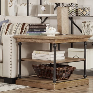 Barnstone Cornice Accent Storage Side Table by SIGNAL HILLS