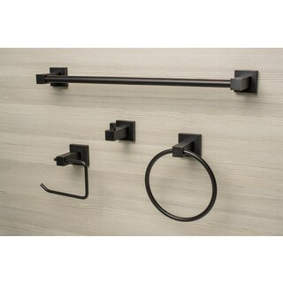Sure-Loc Modern 4-piece Bathroom Accessory Set
