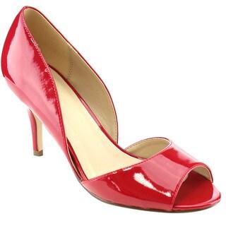 Beston Women's D'Orsay Heels
