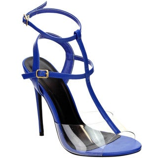 Beston T-strap Stiletto Sandals