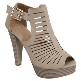 Beston Chunky Heel Sandals