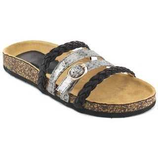 Beston Women's Braided Comfort Sandals