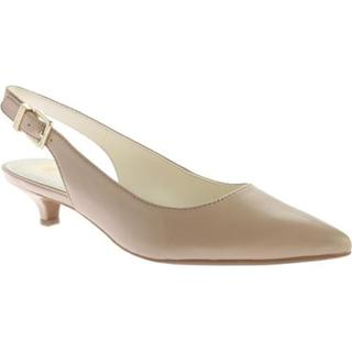Women's Anne Klein Expert Slingback Natural Leather