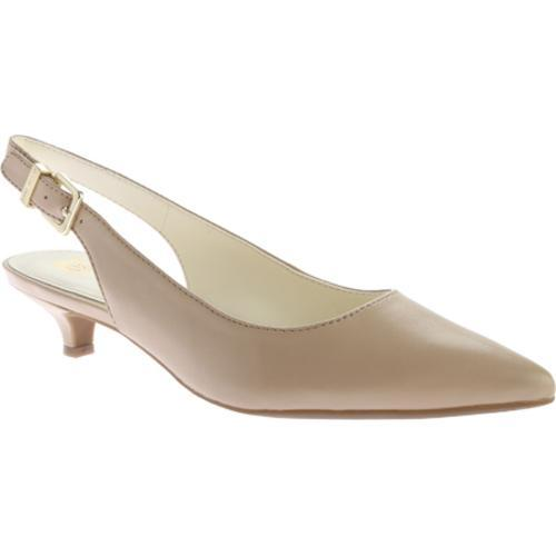 f7345ad5a87b Shop Women s Anne Klein Expert Slingback Natural Leather - Free Shipping  Today - Overstock - 11681130