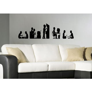 Evolution evolutionary chain computer Kids Wall Art Sticker Decal