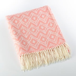 Jacquard Design Throw Blanket