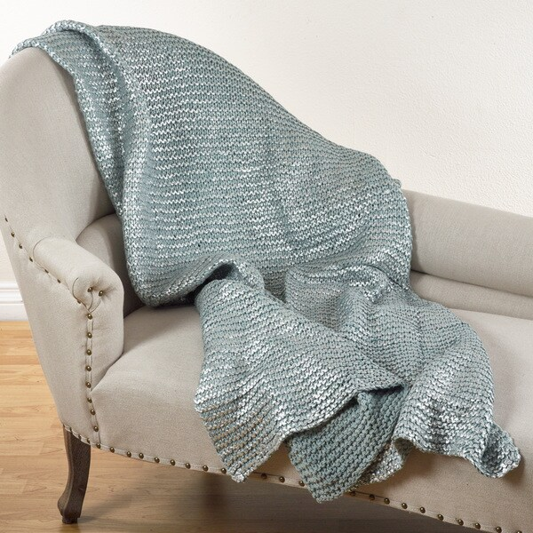 Cassandra Collection Knitted Design Throw Blanket