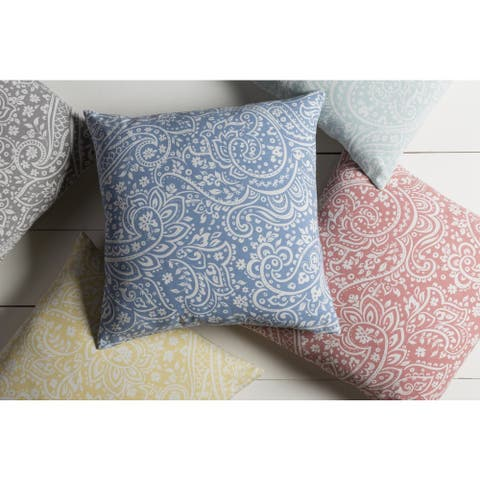 Decorative Lakeland 22-inch Feather Down/Polyester Filled Throw Pillow