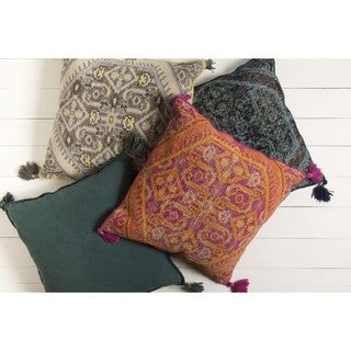 Decorative Graham 30-inch Down/Polyester Filled Throw Pillow (2 options available)