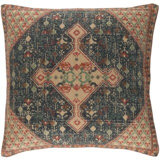 Decorative Lexie 22-inch Feather Down/Polyester Filled Throw Pillow