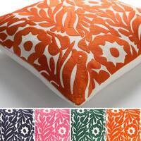 Decorative Lami 22-inch Feather Down/Polyester Filled Throw Pillow