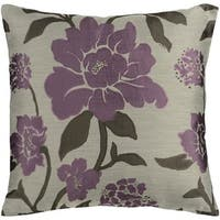 Decorative Giza 18-inch Down/Polyester Filled Throw Pillow