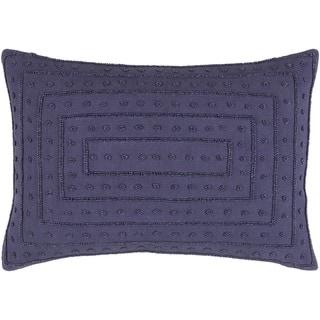Decorative Kemi Down/Polyester Filled Throw Pillow (13 x 20)