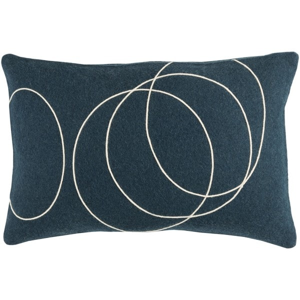 Decorative Liana Feather Down/Polyester Filled Throw Pillow (13 x 19). Opens flyout.