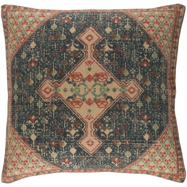Decorative Lexie 18-inch Feather Down/Polyester Filled Throw Pillow