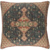 Lexie Bohemian 18-inch Feather Down or Polyester Filled Throw Pillow