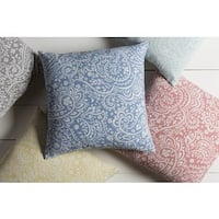 Decorative Lakeland 18-inch Feather Down/Polyester Filled Throw Pillow