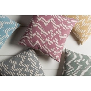 Decorative Labasa 18-inch Down/Polyester Filled Throw Pillow
