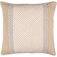 Decorative Haru 18-inch Feather Down/Polyester Filled Throw Pillow