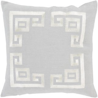Decorative Kourou 20-inch Feather Down/Polyester Filled Throw Pillow