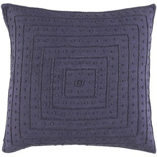 Decorative Kemi 20-inch Feather Down/Polyester Filled Throw Pillow