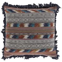 Decorative Kassidy 20-inch Feather Down/Polyester Filled Throw Pillow