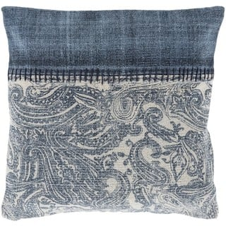 Decorative Kamora 20-inch Feather Down/Polyester Filled Throw Pillow