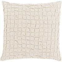 Decorative Kaci 20-inch Feather Down/Polyester Filled Throw Pillow