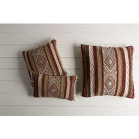 Decorative Jo 20-inch Feather Down/Polyester Filled Throw Pillow