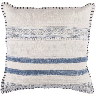 Decorative Horace 20 Inch Feather Down/Polyester Filled Throw Pillow