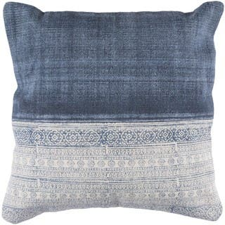 Decorative Hiromi 20-inch Feather Down/Polyester Filled Throw Pillow