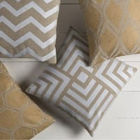Decorative Goussainville 20-inch Feather Down/Polyester Filled Throw Pillow