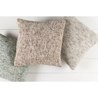 Decorative Lisieux 20-inch Down/Polyester Filled Throw Pillow