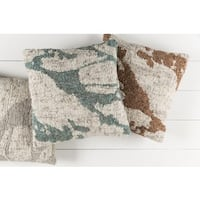 Decorative Liora 20-inch Feather Down/Polyester Filled Throw Pillow