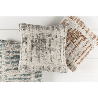 Decorative Linz 20-inch Feather Down/Polyester Filled Throw Pillow