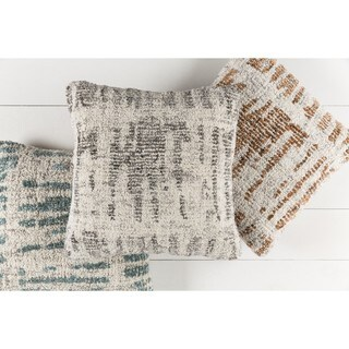 Decorative Linz 20-inch Down/Polyester Filled Throw Pillow