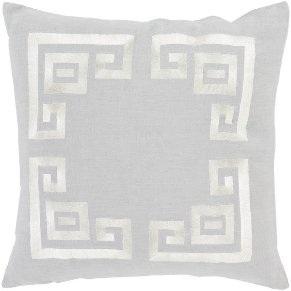 Decorative Kourou 22-inch Feather Down/Polyester Filled Throw Pillow