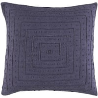 Decorative Kemi 22-inch Feather Down/Polyester Filled Throw Pillow