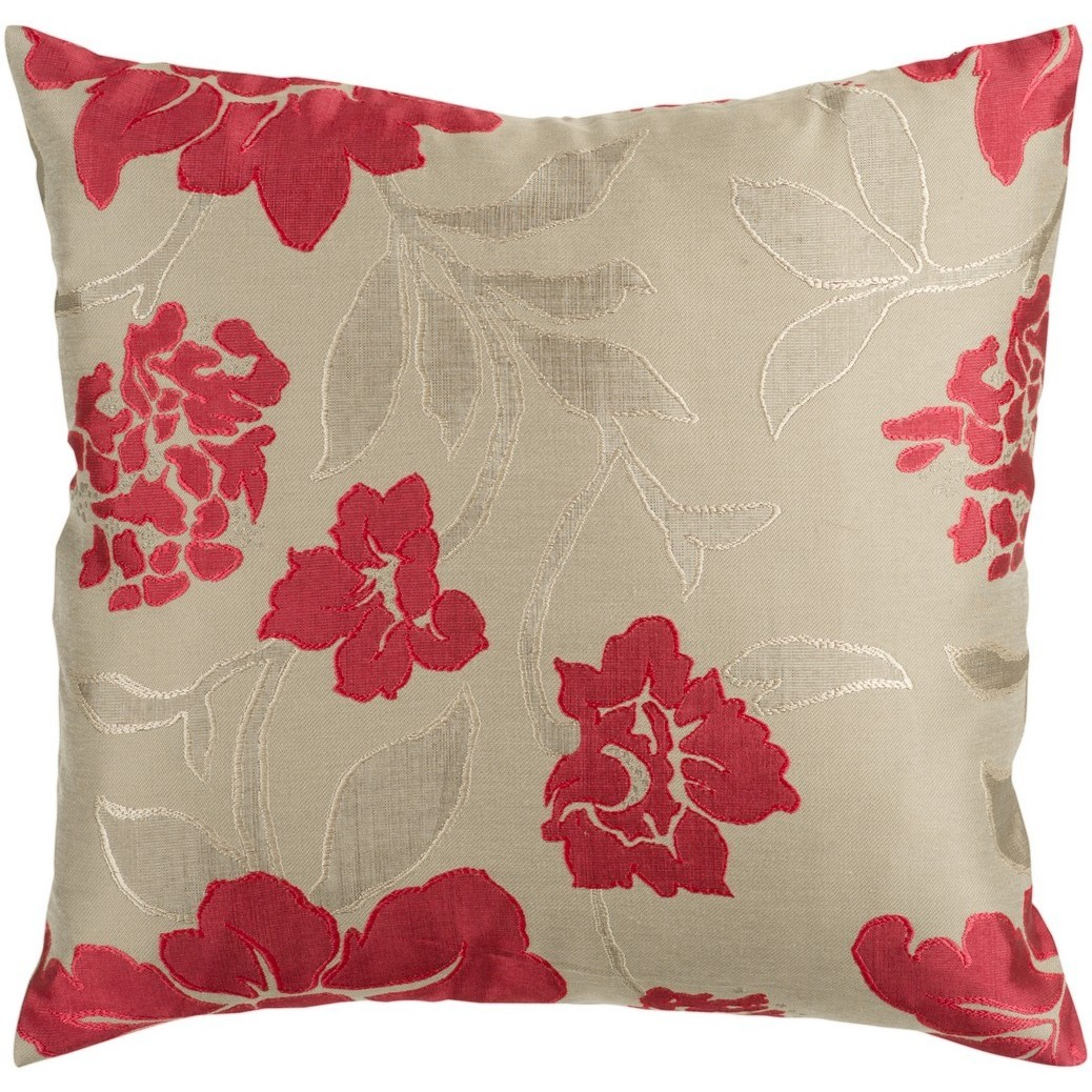 Decorative Getafe 22-inch Feather Down/Polyester Filled Throw Pillow (Polyester)