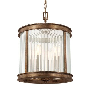 Capital Lighting Reid Collection 4-light Rustic Flush Mount