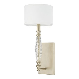 Capital Lighting Seaton Collection 1-light Soft Gold Wall Sconce