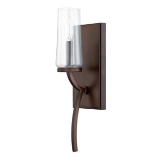Capital Lighting Stella Collection 1-light Burnished Bronze Wall Sconce
