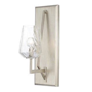 Capital Lighting Arden Collection 1-light Brushed Silver Wall Sconce