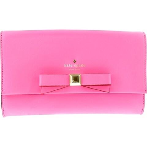 Kate Spade New York Holly Street Remi Gulabi Clutch in Bright Pink