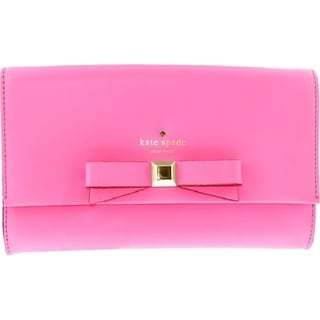 Kate Spade New York Holly Street Remi Gulabi Clutch in Bright Pink
