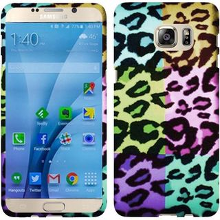 Insten Colorful Leopard Hard Snap-on Rubberized Matte Case Cover For Samsung Galaxy S7